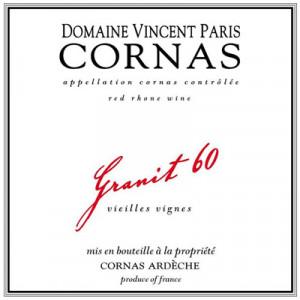 Vincent Paris Cornas Granit 60 2017 (6x75cl)