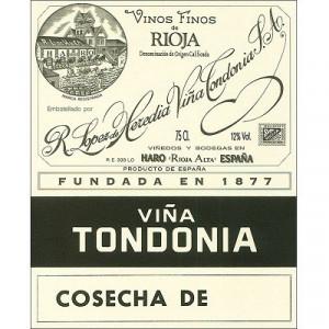 Lopez de Heredia Vina Tondonia Rioja Reserva 2008 (6x75cl)