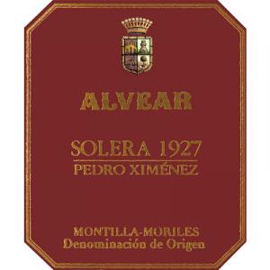 Alvear Pedro Ximenez Solera 1927 NV (6x37.5cl)
