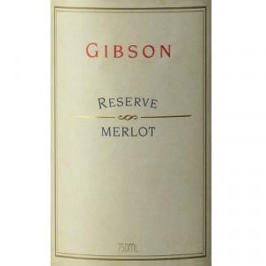 Gibson Merlot Reserve 2004 (6x75cl)