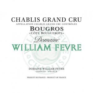 William Fevre Chablis Grand Cru Bougros Cote Bouguerots 2015 (6x75cl)