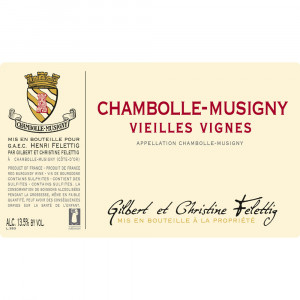 Felettig Chambolle-Musigny Vieilles Vignes 2017 (6x75cl)