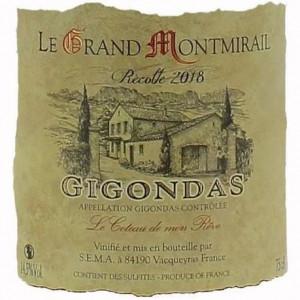 Grand Montmirail (Yves Cheron) Gigondas Le Coteau de Mon Reve 2017 (6x75cl)