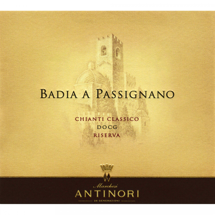 Antinori Badia A Passignano Chianti Classico Riserva 2015 (6x75cl)
