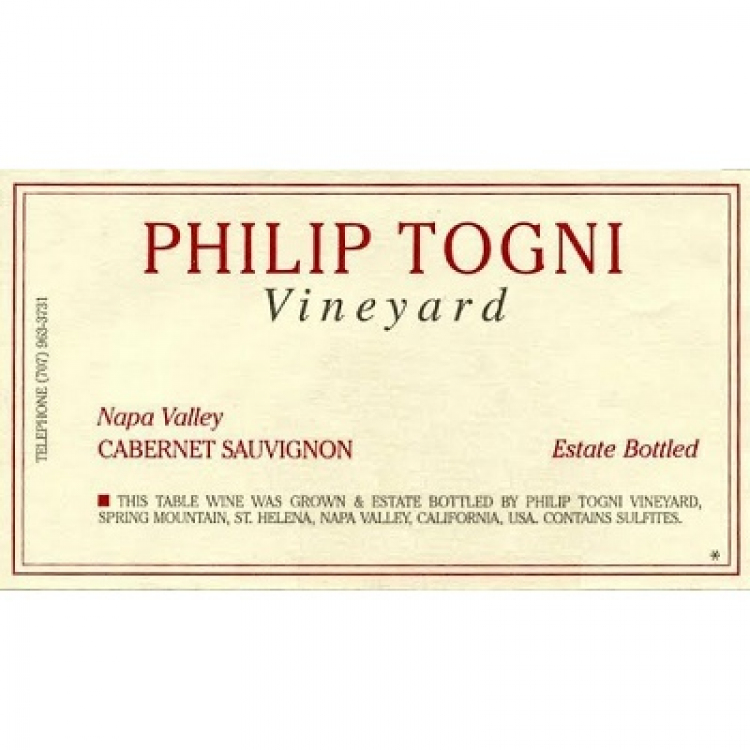 Philip Togni Cabernet Sauvignon 2015 (12x75cl)