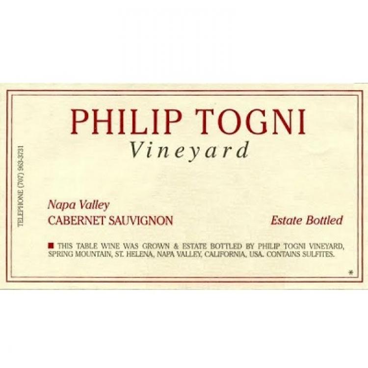 Philip Togni Cabernet Sauvignon 2009 (6x150cl)