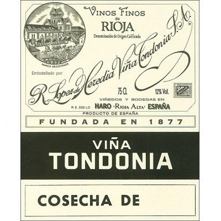 Lopez de Heredia Vina Tondonia Rioja Reserva 2009 (6x75cl)
