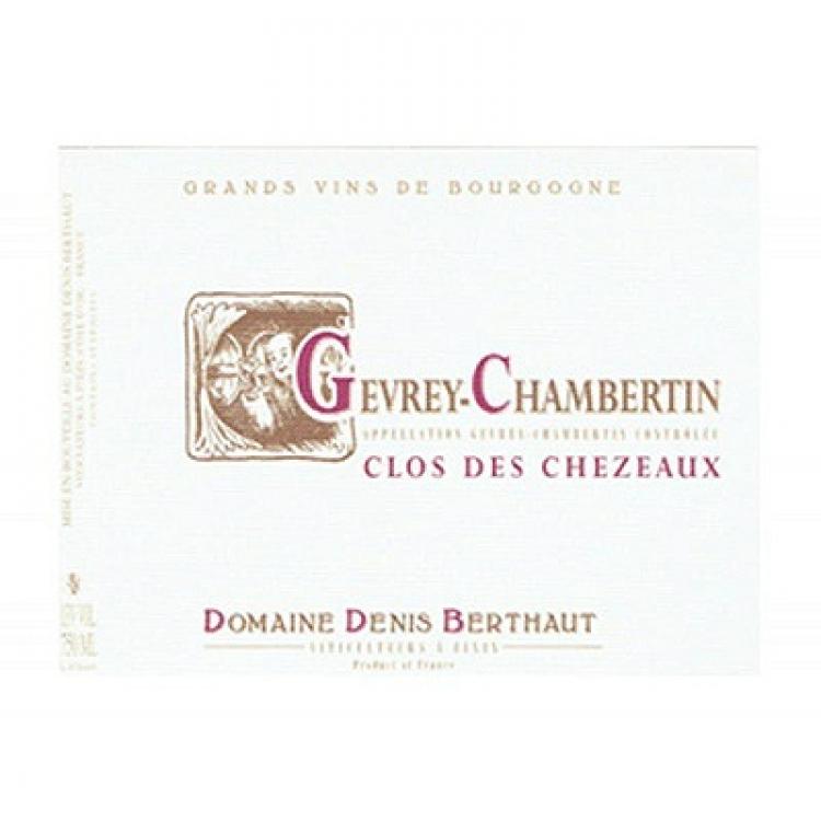 Berthaut-Gerbet Gevrey-Chambertin Clos des Chezeaux 2017 (6x75cl)