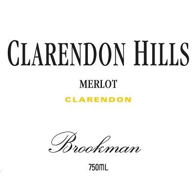 Clarendon Hills Brookman Merlot 2007 (6x75cl)