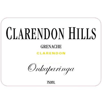 Clarendon Hills Onkaparinga Grenache 2007 (6x75cl)
