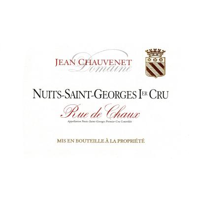 Jean Chauvenet Nuits-Saint-Georges 1er Cru Rue de Chaux 2019 (6x75cl)