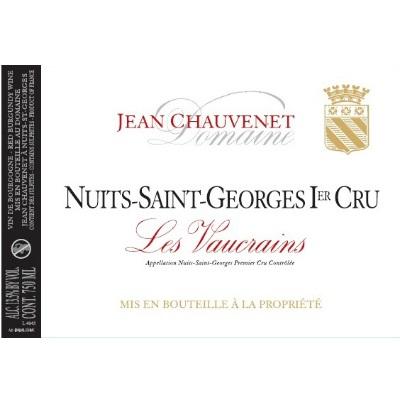 Jean Chauvenet Nuits-Saint-Georges 1er Cru Les Vaucrains 2015 (6x75cl)