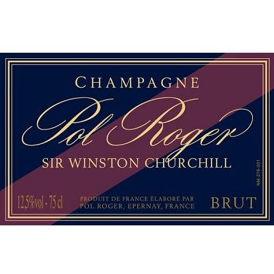 Pol Roger Sir Winston Churchill 2012 (1x300cl)