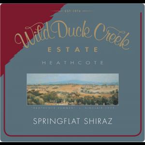 Wild Duck Creek Springflat Shiraz 2006 (1x150cl)