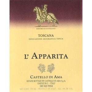 Castello di Ama l'Apparita 2015 (6x75cl)