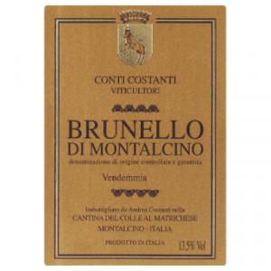Conti Costanti Brunello di Montalcino 2012 (6x75cl)