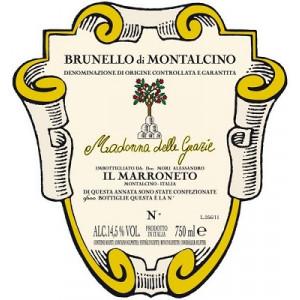Il Marroneto Brunello di Montalcino Madonna delle Grazie DOCG 2016 (6x75cl)