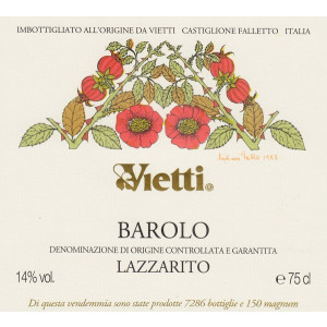 Vietti Barolo Lazzarito 2014 (6x75cl)