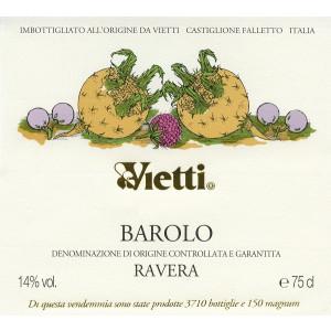 Vietti Barolo Ravera 2014 (6x75cl)
