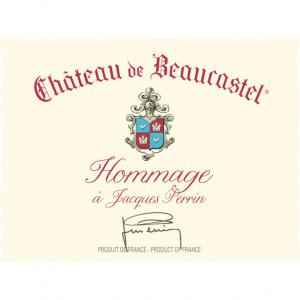 Beaucastel Chateauneuf-du-Pape Hommage a Jacques Perrin 2018 (3x75cl)