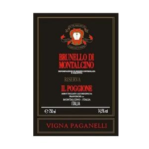 Il Poggione Brunello di Montalcino Riserva Vigna Paganelli 2015 (6x75cl)