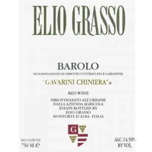 Elio Grasso Barolo Gavarini Chiniera 2016 (6x75cl)