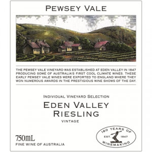 Pewsey Vale Riesling 2020 (6x75cl)